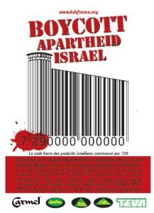 Affichette Boycott