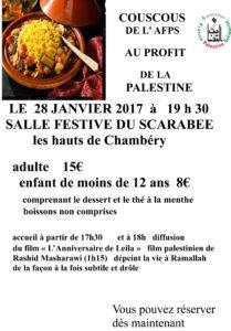 affiche couscous janvier 2017